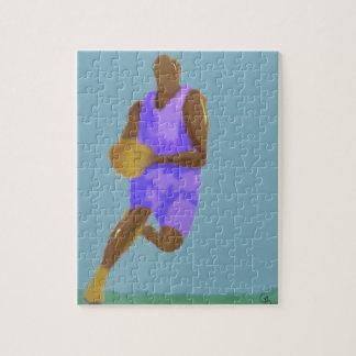 Basketball Art Puzzle