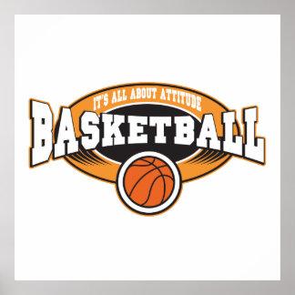 Basketball Attitude Poster