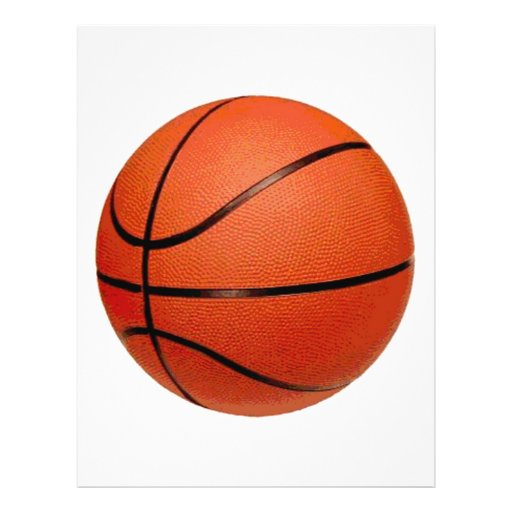 Basketball Ball Flyer Design