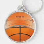 Basketball Ball Hat Keychain