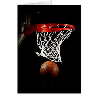 Basketball Ball Net Greeting Cards