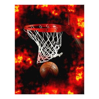 Basketball Ball & Net Flyer