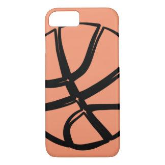 Basketball Basket Ball Girly iPhone 7 6 Case