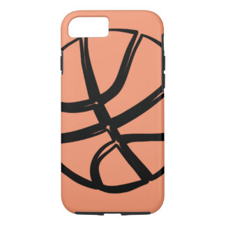 Basketball Basket Ball Tough iPhone 7 6 Case