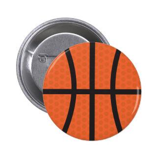 Basketball - Basketball 6 Cm Round Badge