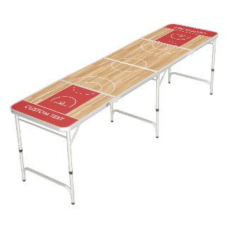 Basketball Beer Pong Table