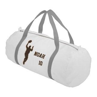 Basketball Boy Man Duffle Gym Bag Gym Duffel Bag