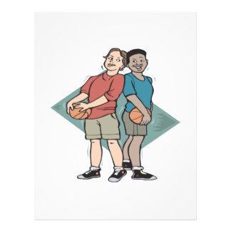 Basketball Buddies 21.5 Cm X 28 Cm Flyer
