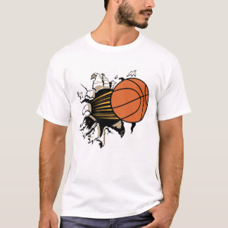 Basketball Burst t-shirt