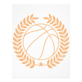 Basketball Champions Graphic Personalized Flyer
