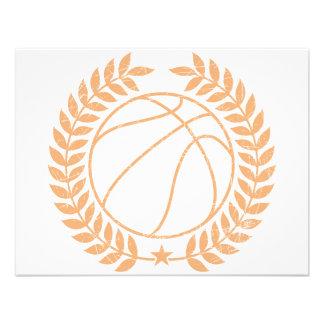 Basketball Champions Graphic Invite