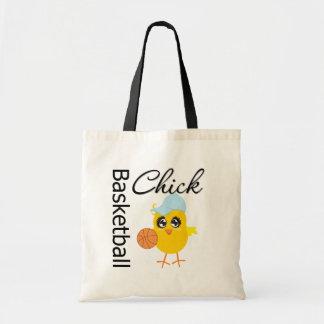 Basketball Chick Budget Tote Bag