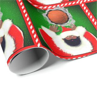 basketball Christmas Wrapping Paper