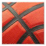 Basketball Closeup Photo Art
