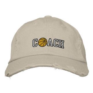 Basketball Coach Baseball Cap