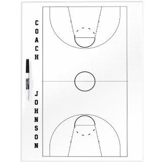 Basketball Coach Dry Erase Board