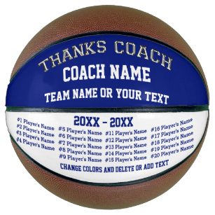 Basketballs basketball gear zazzle basketball coach gifts personalised basketball negle Gallery