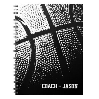 Basketball coach notebook journal | Personalized
