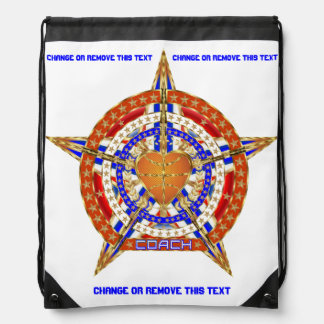 Basketball Coach Please View About Design Below Drawstring Bag