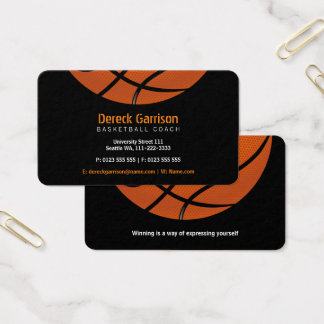 Basketball Coach | Sport Business Card