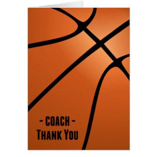basketball coach thank you cards basketball coach thank