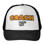Basketball Coach whistle, orange Cap