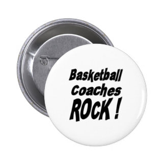 Basketball Coaches Rock Button