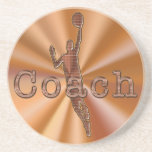 Basketball Coasters Basketball Coach Gifts
