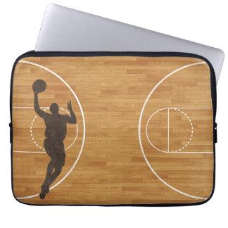Basketball Court Boy Laptop Sleeve