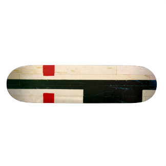 Basketball Court Lines and Markings Skateboard Decks