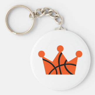 Basketball crown ball key ring