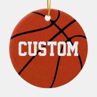 Basketball Custom Christmas Ornament