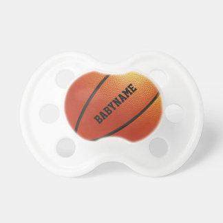 Basketball custom pacifier