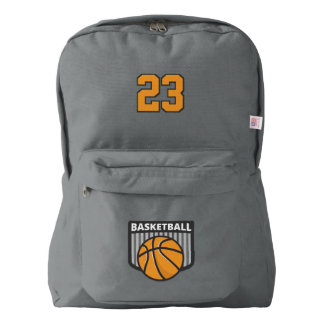 Basketball. Custom Player  Number. Your Official Backpack