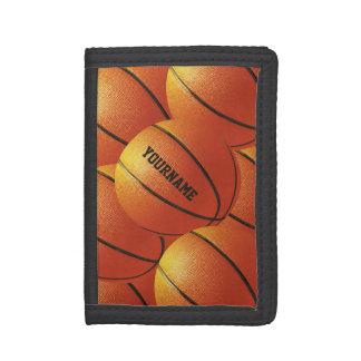 Basketball custom wallets