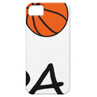 Basketball DAD Barely There iPhone 5 Case