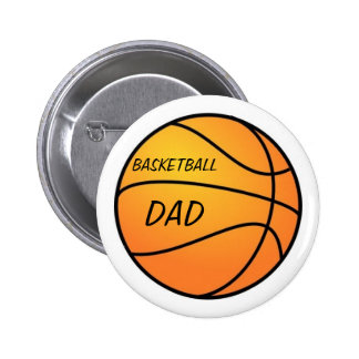 Basketball Dad Button