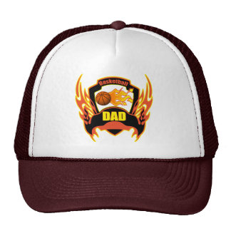 Basketball Dad Fathers Day Gifts Trucker Hat