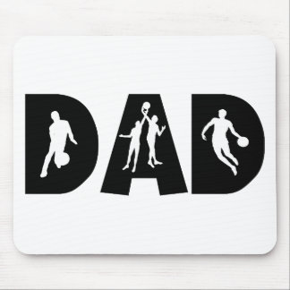 Basketball Dad Father's Day Mouse Pad