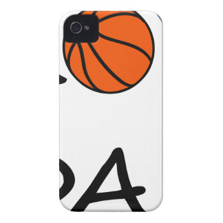Basketball DAD iPhone 4 Cover