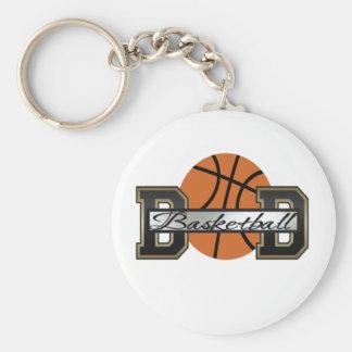 Basketball Dad Key Ring