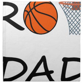Basketball DAD Napkin