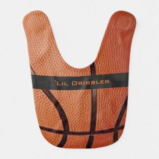 Basketball Design Baby Bib