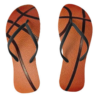 Basketball Design Flip Flops