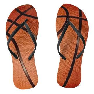 Basketball Design Flip Flops