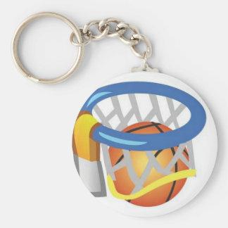 Basketball design keychains