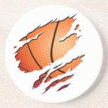 Basketball Dessous De Verre
