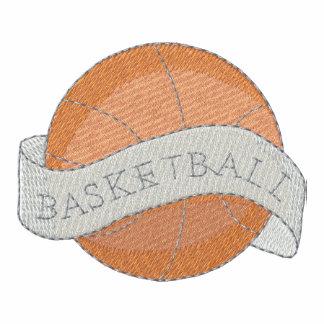 Basketball Embroidered Polo Shirt