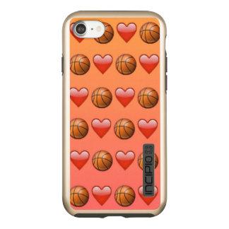 Basketball Emoji Incipio DualPro Shine iPhone 8/7 Case