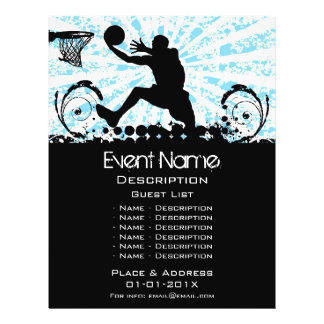 Basketball Event Promotion Flyer